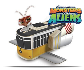 Lowes: FREE Monsters vs Aliens Trolley Wooden Project, Apron, Goggles, Patch (Register Now!)