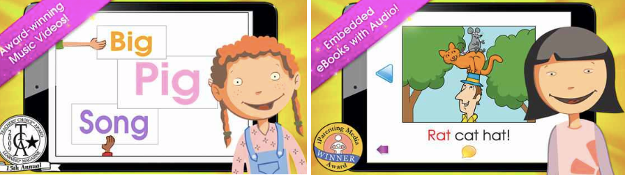 FREE Hooked on Phonics Learn to Read Classroom Edition App for