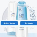 FREE Dove Advanced Hair Series Shampoo & Conditioner Sample!
