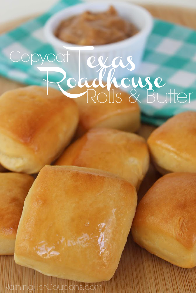 Copycat Texas Roadhouse Rolls & Cinnamon Butter - if you haven't ever had these, MAKE THEM!!