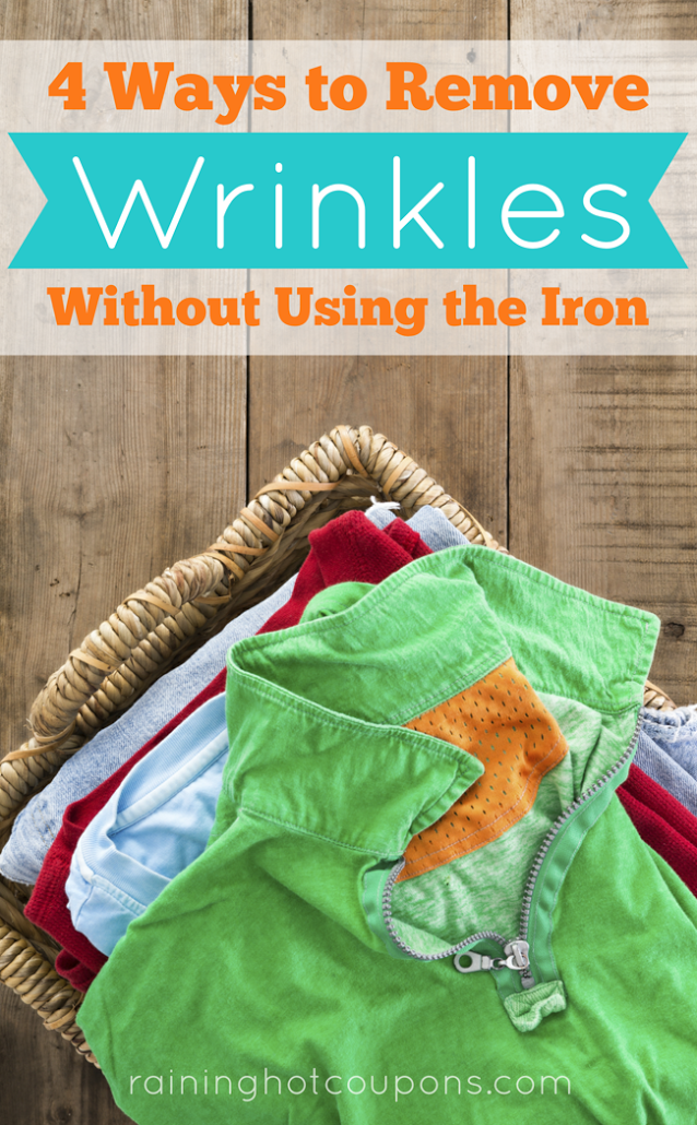 wrinkle 4 Ways To Remove Wrinkles Without Using The Iron