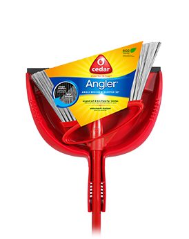O-Cedar Angler Angle Broom