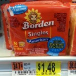 Borden Cheese Singles Only $0.48 Each at Walmart