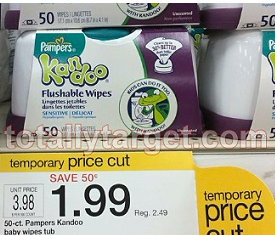 KAN *HOT* Large Tubs of Kandoo Wipes Only $0.99!