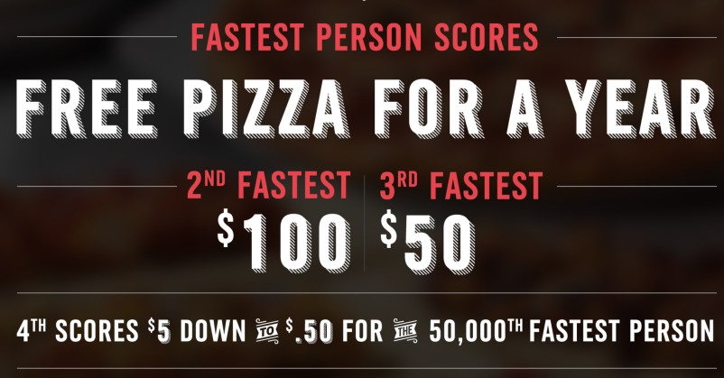 Dominos Pizza: *HOT* FREE Gift Cards (FIRST 50,000!)