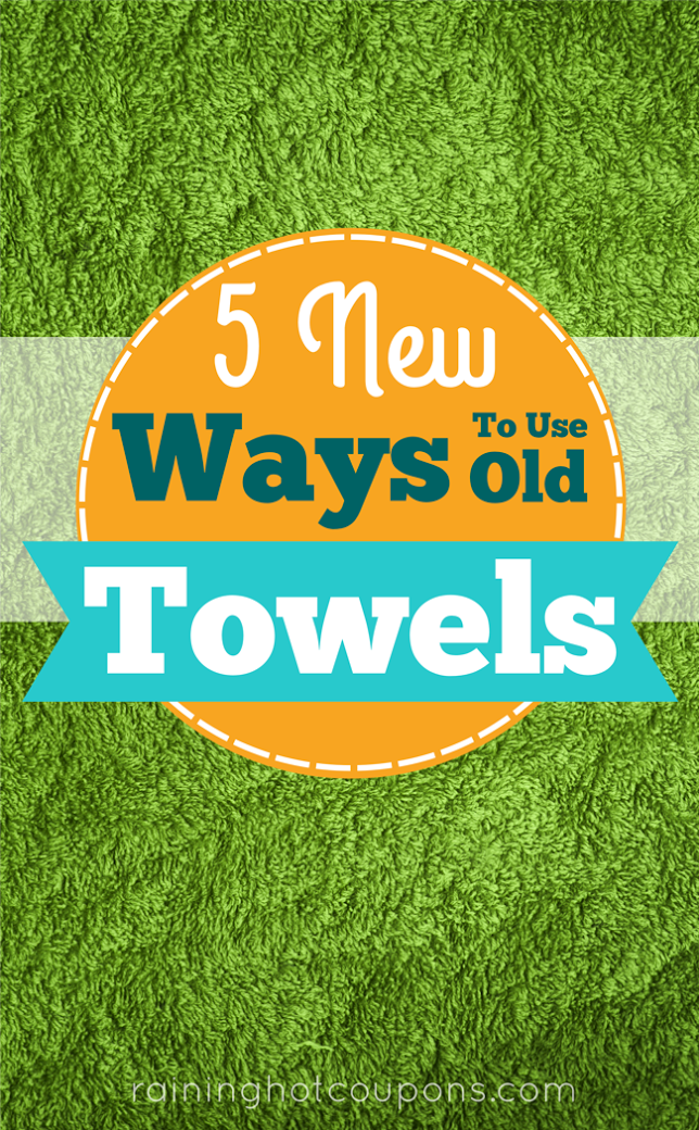 TOWELS 5 New Ways To Use Old Towels