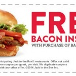 Jack in the Box: Buy 1 Bacon Insider, Get 1 FREE Coupon!