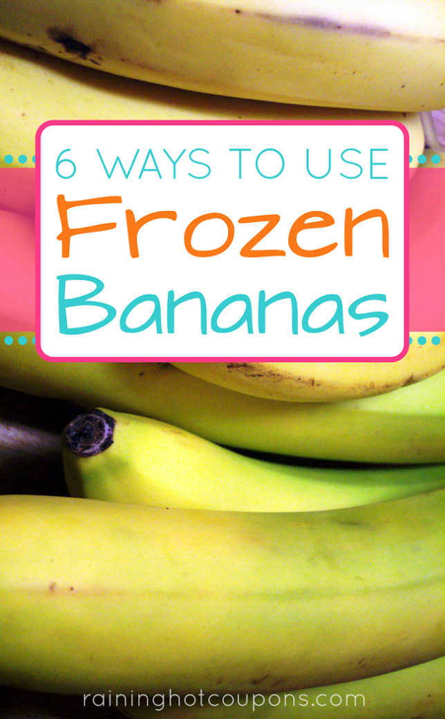 banans 6 Ways To Use Frozen Bananas