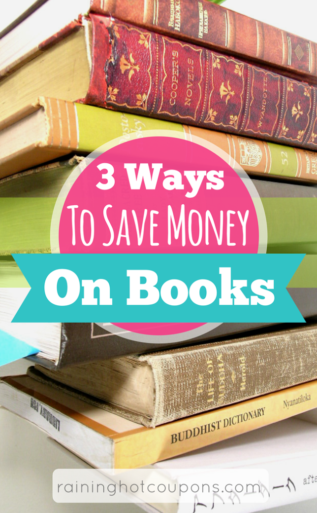 books1 3 Ways To Save Money On Books