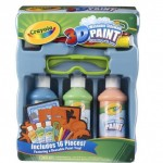 Crayola 3D Deluxe Sidewalk Paint Tray with 16 pieces Only $12.99 (Reg. $23.99)!