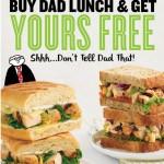 Buy 1 Einstein Bros Bagels Sandwich, Get 1 FREE Sandwich Coupon