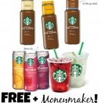 *HOT* FREE Starbucks Iced Coffee + $1 Moneymaker!