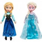 *HOT* Disney Frozen Ann and Elsa Medium Plush Dolls Only $19.99 (Reg. $35+)