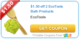 image MTgzMDAwNDE Eco Tools Bath Poufs Only $0.12 at Walmart