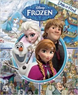 Look and Find Disney Frozen Hardcover