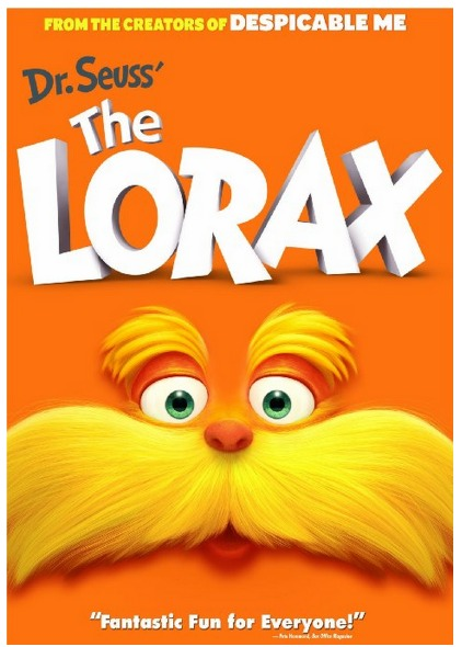 *HOT* Dr. Seuss The Lorax DVD Only $5 (Reg. $14.98)!