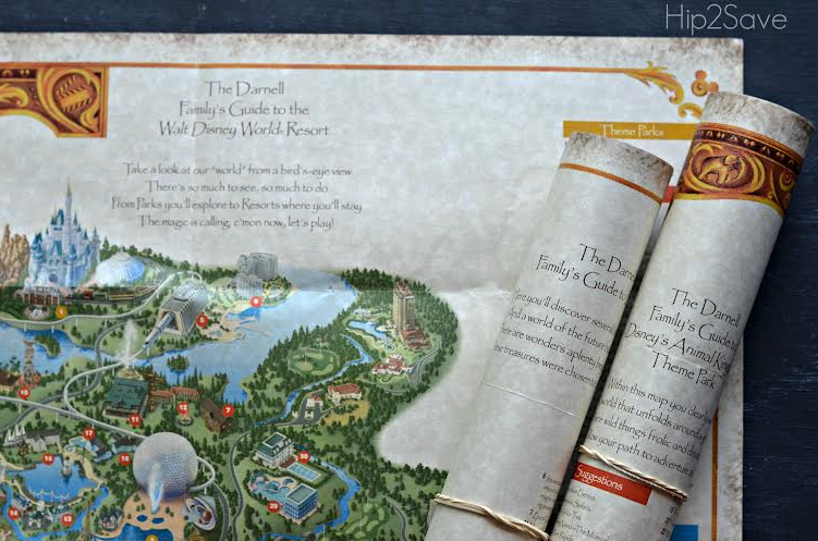 map FREE Walt Disney World Customized Map AND FREE Stickers + FREE Shipping (Great Keepsake!)