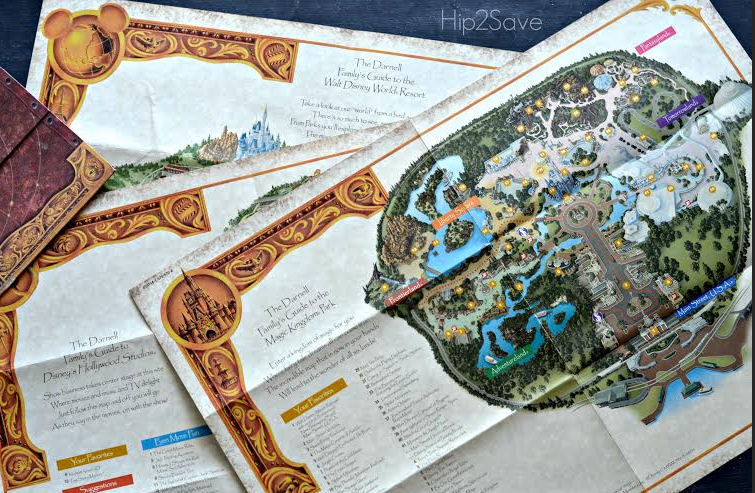 map2 FREE Walt Disney World Customized Map AND FREE Stickers + FREE Shipping (Great Keepsake!)