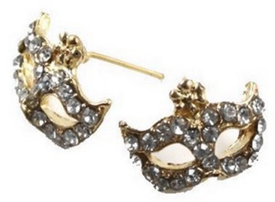 rhinestone-party-mask-earrings