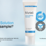 FREE Murad Acne Clearing Solution Sample