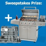 Win a Stainless Steel Gas Grill & BBQ Tool Set