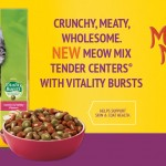 FREE Meow Mix Tender Centers Cat Food Sample