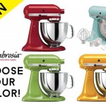 Giveaway: Win an Artisan 5Qt KitchenAid Stand Mixer (a value of $400)