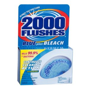 1000 flushes cleaner Target: 2000 Flushes Toilet Bowl Cleaner Only $1.49