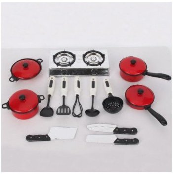 4109 y 1oyL. SY355  Amazon: 13 Pcs Children Kitchen Cookware Set Only $6.68 Shipped