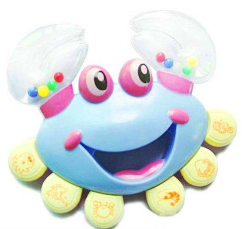 Plastic Musical Crab Toy