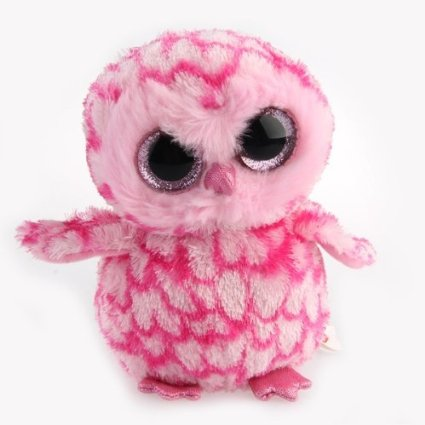 51B2 XW vML. SX425  Amazon: Plush Big Eye Owl Toy Only $4.37 Shipped