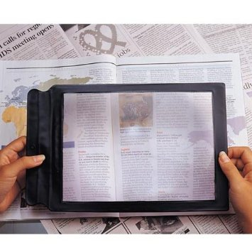 51QLWB9mU5L. SY355  Amazon: Sheet Magnifier Only $2.99 Shipped