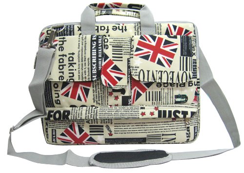 51p8JfL2koL Amazon: 14 inch Union Jack Flag Laptop Carry Case Only $17.99 (Reg. $56.99)