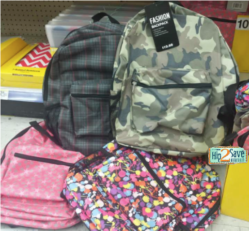 BACK Walgreens: Backpacks Only $5.49 each!