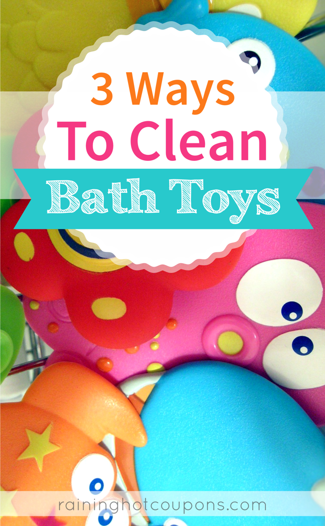 BATH 3 Ways To Clean Bath Toys