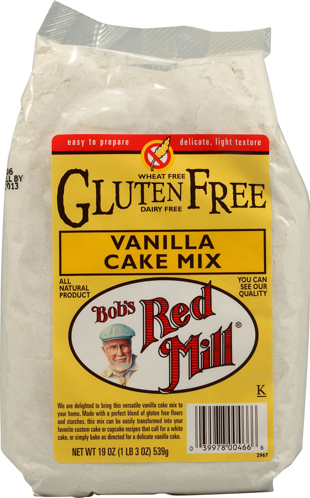 Bob S Red Mill Gluten Free Vanilla Cake Mix