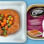 FREE Cesar Savory Delights Dog Food Entrée Sample