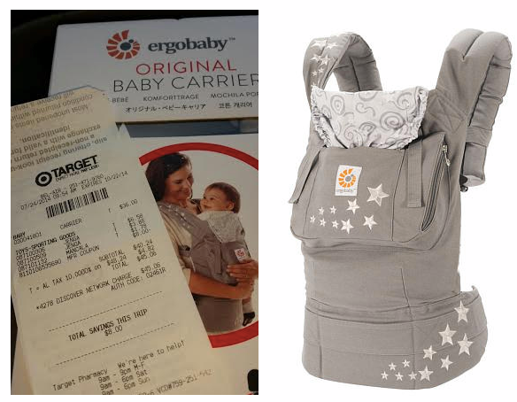 ERG *HOT* Target: Ergo Baby Carriers Only $35 (Reg $100+)!