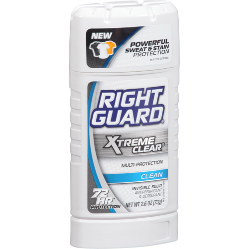 Right Guard Xtreme Clear Target: FREE Right Guard Xtreme Clear