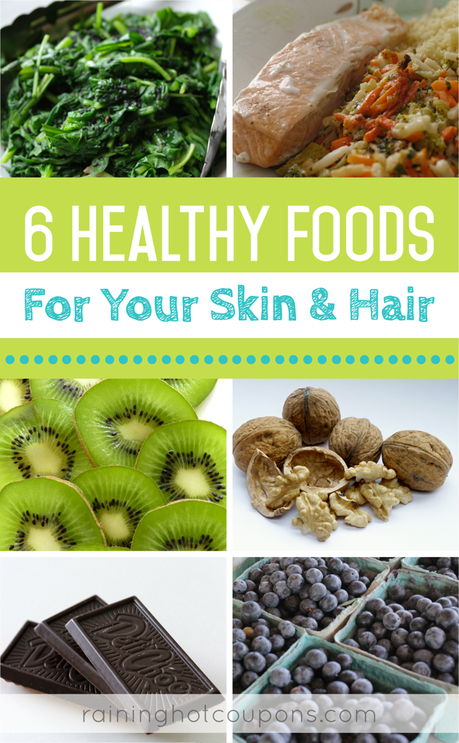 SKIN 6 Healthy Foods For Your Skin & Hair