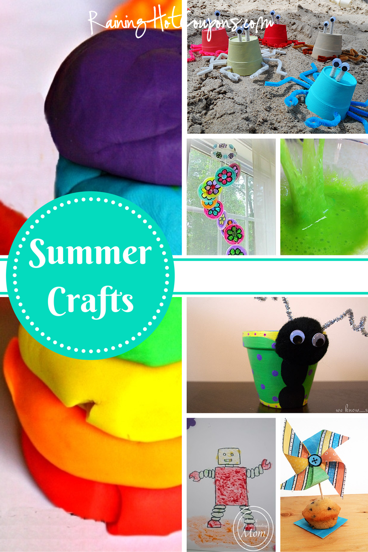 Summer Crafts 1.png List of 10 Summer Crafts to do with the Kids!