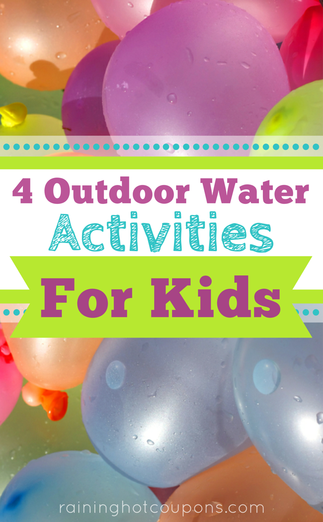 WATER 4 Outdoor Water Activities for Kids