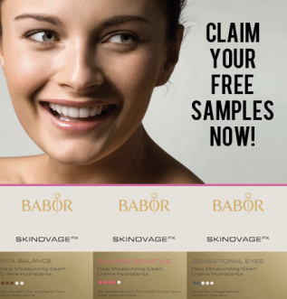 babor Free Babor Luxury Skincare Samples