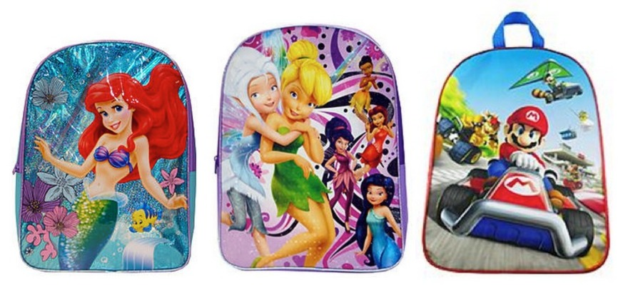 *HOT* FREE 16 Disney or Nintendo Backpack + FREE Shipping ($12.00 Value!)