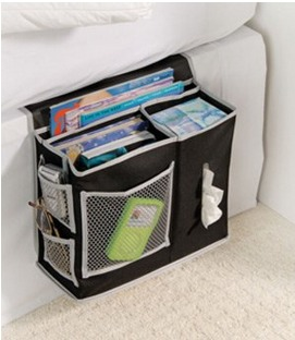 Richards Homewares 6 Pocket Bedside Storage Mattress Book Remote Caddy Only $8.31(Reg. $26.10)