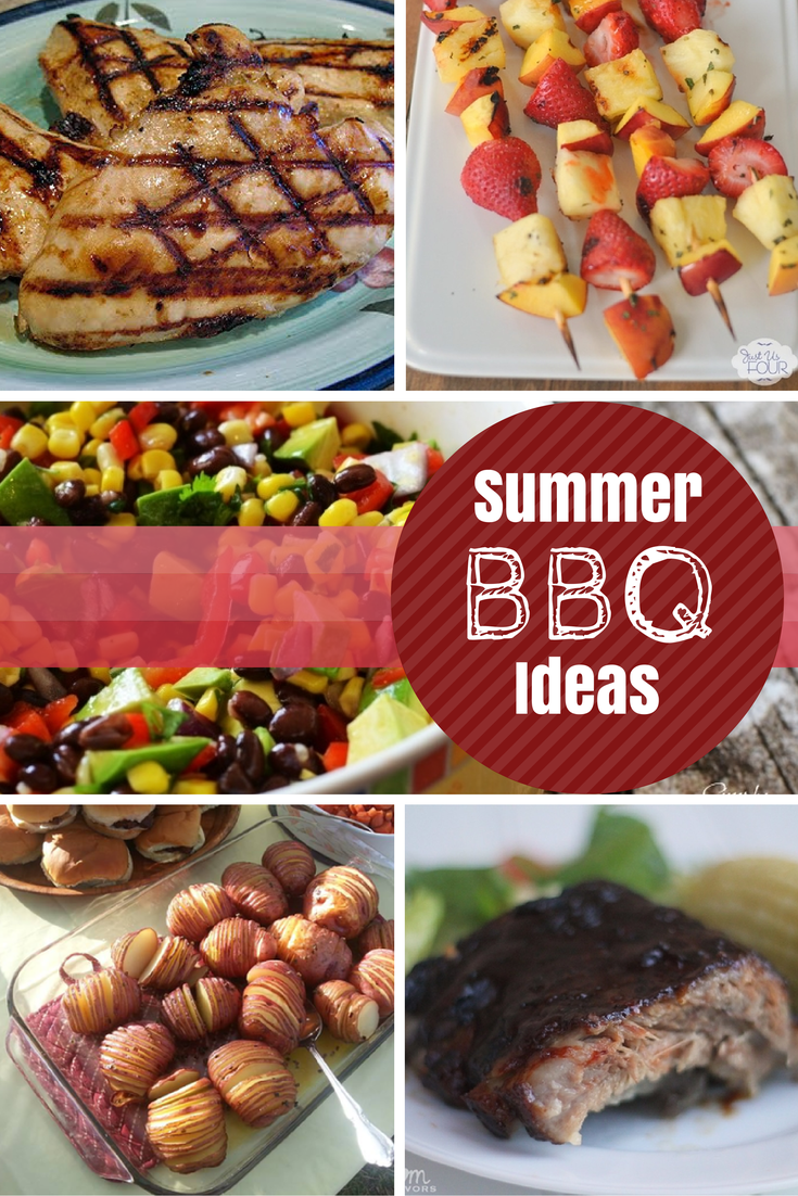 bbq Summer BBQ Recipe Ideas