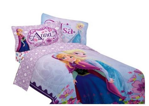 *HOT* Disneys Frozen Celebrate Love Comforter, Twin Bed Set Only $32.99 (Reg. $70.99)!