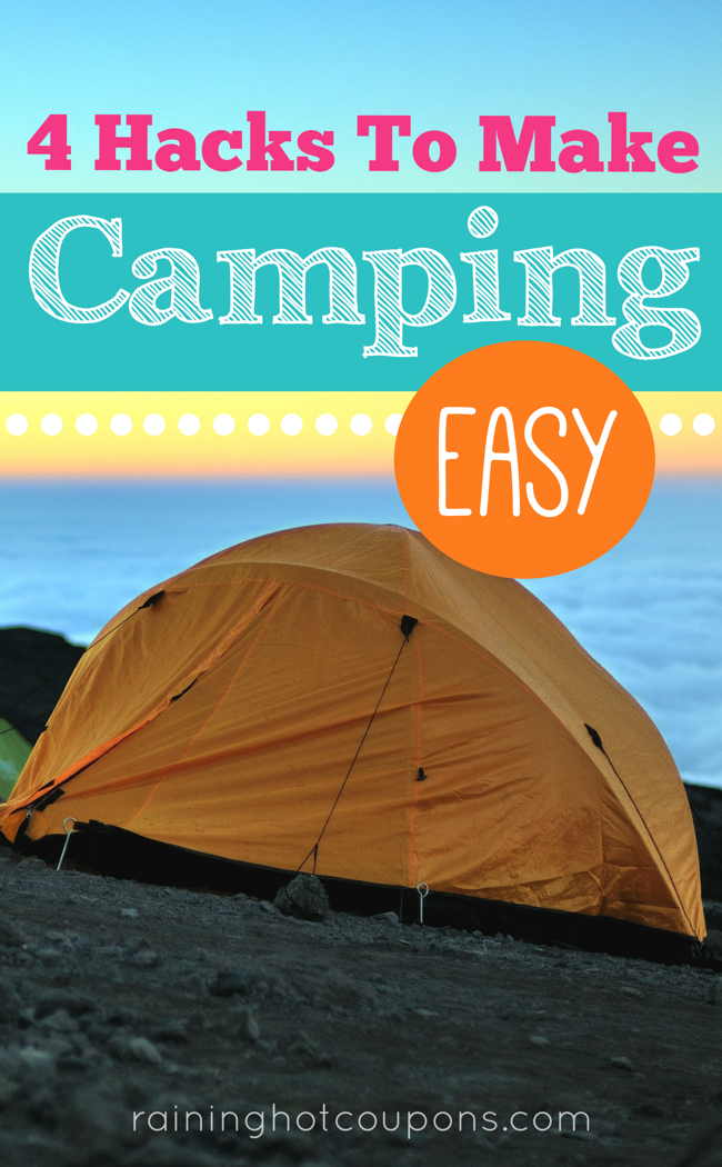 camping 4 Camping Hacks To Make Camping Easy!