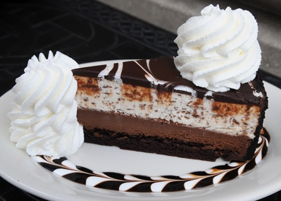 cheese The Cheesecake Factory: Half off ANY Slice of Cheesecake!
