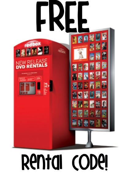 FREE Redbox Code + FREE Redbox Codes List (NEW CODE!) 10/20